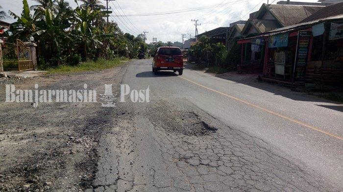Jalan Nasional di Kabupaten Kotabaru Provinsi Kalsel