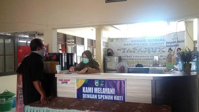 Dinsos Tala Kalsel, Tangani Warga Miskin Hingga Korban Bencana Alam