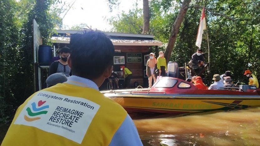 Mengenal KNPL Anjir Muara, Berperan Aktif Jaga Ekosistem Sungai dan Kawasan Mangrove di Batola