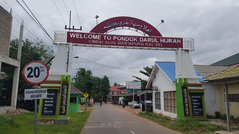 KH Jarkasyi Hasbi Pendiri Ponpes Darul Hijrah Desa Cindai Alus Martapura Kalsel Raih Kalpataru 2021