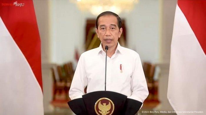 Tren Kasus Covid-19 di Indonesia Menurun, Presiden RI Joko Widodo: Sebuah Penurunan Tajam