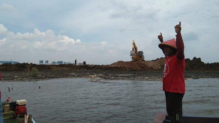 Dengan Suara Bergetar, Nelayan Bekasi Ini Tolak Reklamasi di Pantai Muara Tawar Tarumajaya