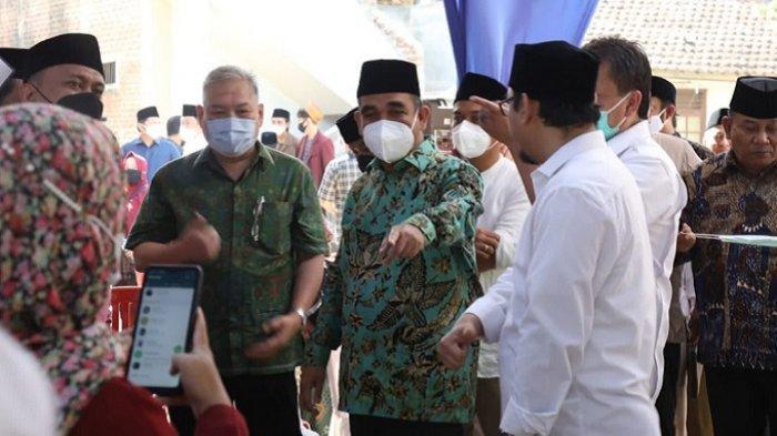 Sekjen Partai Gerindra dan Pimpinan Ponpes Buntet Cirebon Gelar Vaksinasi Covid-19 dan Doa Bersama