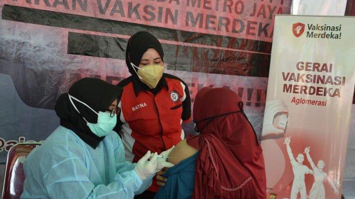Vaksin di Kantor Kelurahan Jatibening Digelar Hingga 30 September, Ada Hadiah Sembako buat Peserta