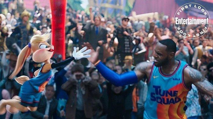 LeBron James Bertanding Melawan Putranya di Dunia Game, Hadir Dalam 'Space Jam: A New Legacy'