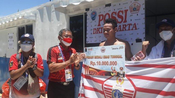 Atlet Peraih Emas PON XX Papua Dapat Uang Apresiasi Rp10 Juta, Ketua KONI DKI: Bonus Beda Lagi