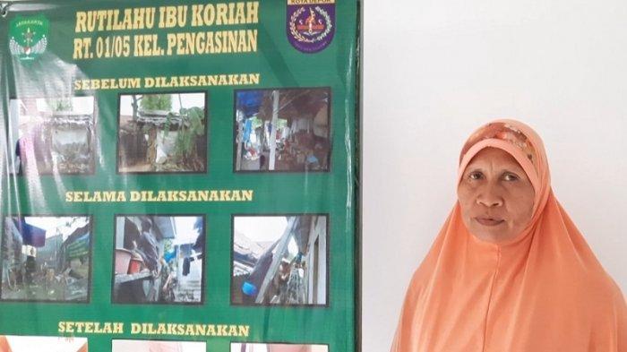 Puluhan Tahun Tinggal di Gubuk Reyot, Janda di Pengasinan Ini Akhirnya Lega Sudah Punya Rumah