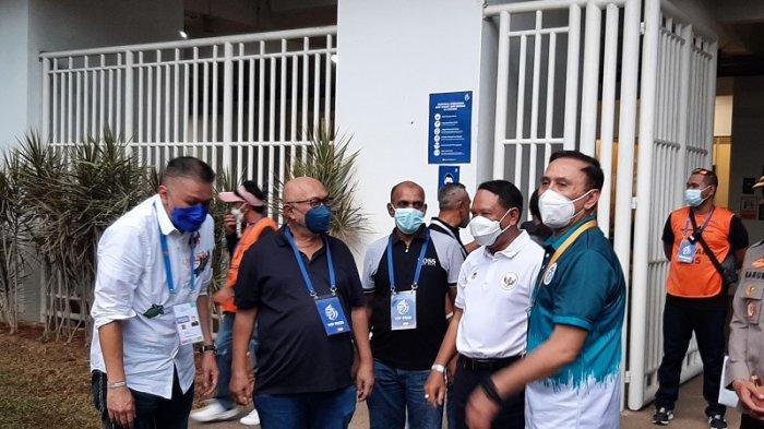 Menpora Pantau Pelaksanaan Kompetisi Liga 1 2021 di Stadion Pakansari Bogor