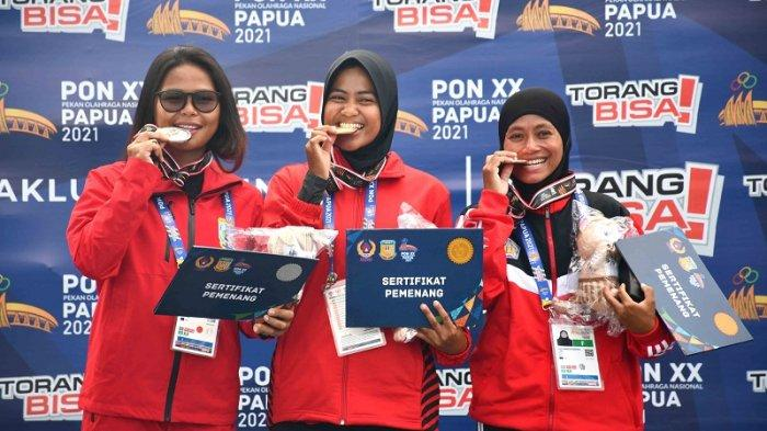 Suci Istuni Sumbang Emas untuk DKI Jakarta di Final Selam Laut Nomor M Course PON XX Papua