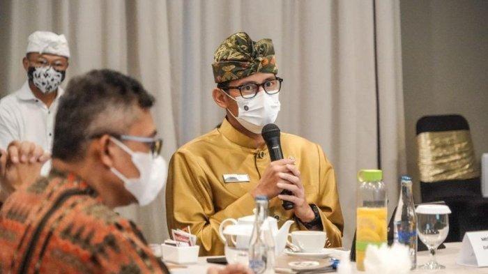 Sektor Penyiaran Bangkit di Tengah Pandemi, Sandiaga Uno: Buka Peluang Usaha-Ciptakan Lapangan Kerja