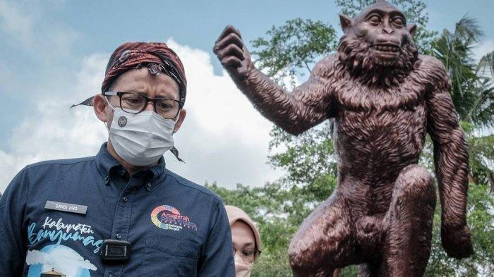 Serupa dengan Desa Sangeh di Bali, Sandiaga Uno: Desa Cikakak Miliki Potensi Wisata Berkelas Dunia