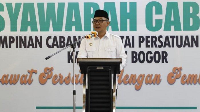 Buka Muscab PPP, Wakil Bupati Bogor Iwan Setiawan Kita Semua Punya Andil Membangun Kabupaten Bogor