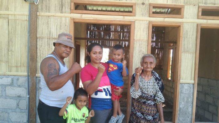 Doa Istri dan Anak Mengantar Yosep Amor Meus Rebut Medali Emas PON