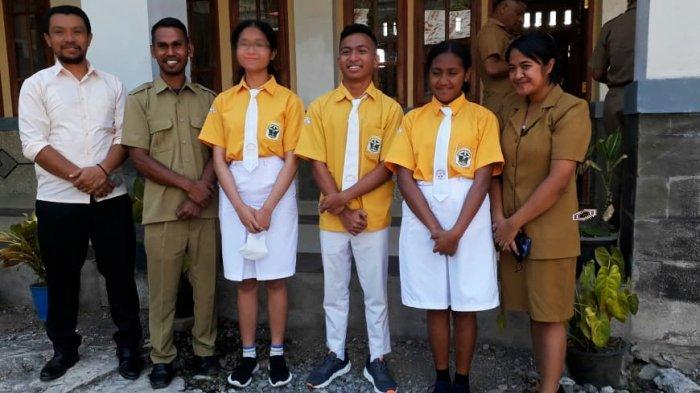 SMAK Regina Pacis Bajawa Loloskan Tiga Siswa ke Kompetisi Sains Nasional
