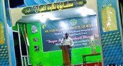 Wabup Flotim Buka MTQ: Jadilah Islam dan Lamaholot 100%
