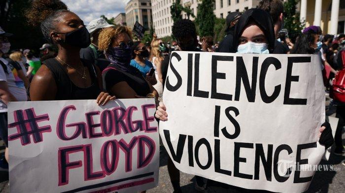 Kematian George Floyd Berujung Demo Ricuh, Warga Negara Indonesia di AS Diminta Tak Ikut Campur