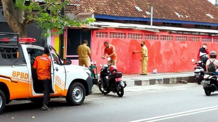 Bantah Penghapusan Mural Berhubungan dengan Kunjungan Jokowi, Lurah di Blitar: 'Kebetulan Barengan'