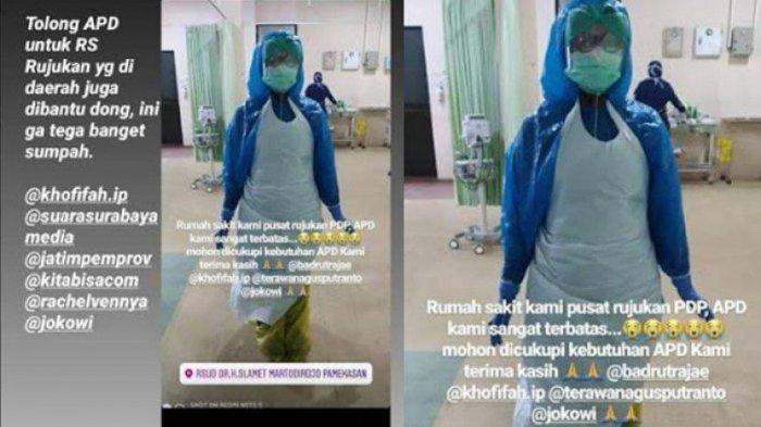 POPULER Ironisnya Tenaga Medis Indonesia Lawan Corona, APD Kurang, Terpaksa Pakai Kantung Sampah