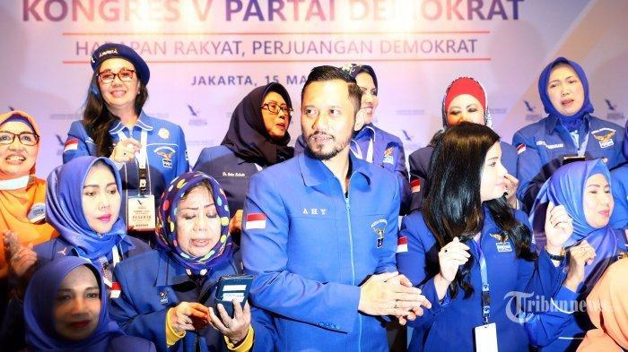 AHY Gembira Pemerintah Tolak KLB Demokrat Kubu Moeldoko, Kini Yakin Jokowi Tak Terlibat