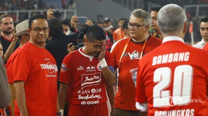 Bambang Pamungkas Resmi Pensiun dari Sepak Bola, 'Lelaki Sejati Tidak Menangis, Tapi Hati Berdarah'