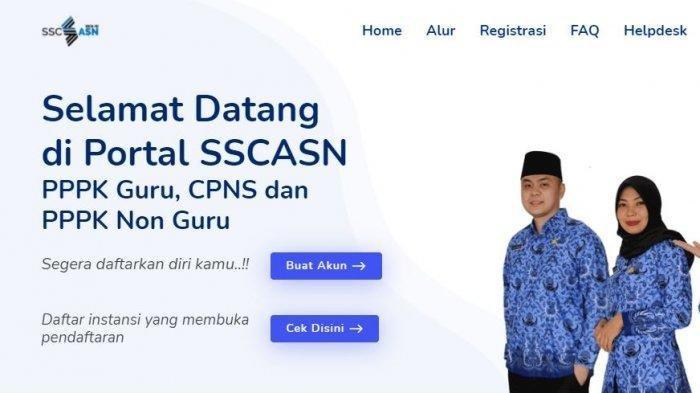 HARI INI Pendaftaran CPNS 2021 dan PPPK Dibuka, Hanya di sscasn.bkn.go.id, Perhatikan Jadwal Terbaru