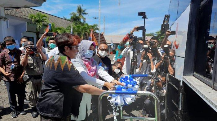 Launching Bus Disabilitas NTB Gemilang, Damri Ramah Difabel Pertama Kali Diresmikan di Mataram