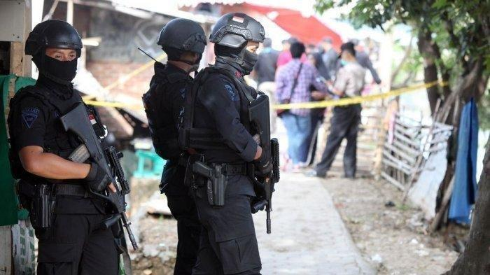 Densus 88 Tangkap 6 Orang Terduga Teroris di Bima NTB, Pengamanan Ketat Dilakukan
