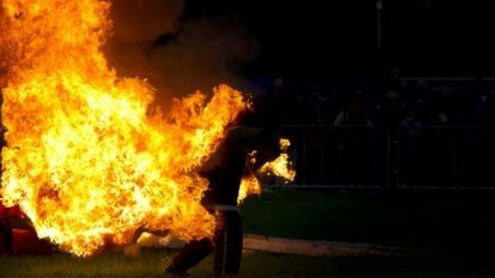 Kronologi Rian Ditemukan Tewas dalam Kondisi Terbakar, Saksi Lihat Kepulan Asap: Dikira Bakar Sampah