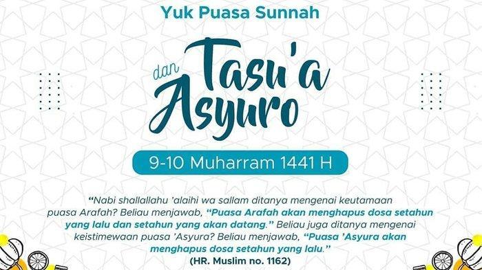 Bacaan Niat dan Doa Buka Puasa Asyura & Tasua, Merupakan Keinginan Rasulullah SAW di Akhir Hayatnya