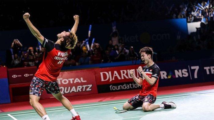 Menang di Indonesian Open, Segini Jumlah Uang yang Diterima Kevin Sanjaya & Marcus Gideon, Miliaran!