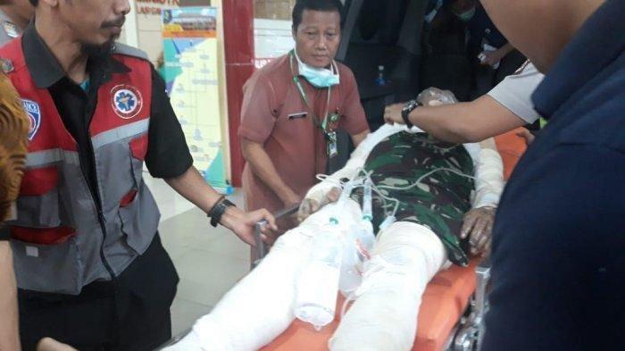 Kesaksian Siswa SMK saat Tolong Polisi Dibakar di Cianjur yang Terkapar Sendiri di Trotoar
