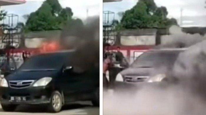 Kronologi Mobil Meledak Setelah Isi BBM di Pom Sumenep, Sempat Ada Panggilan Masuk ke HP Pemilik
