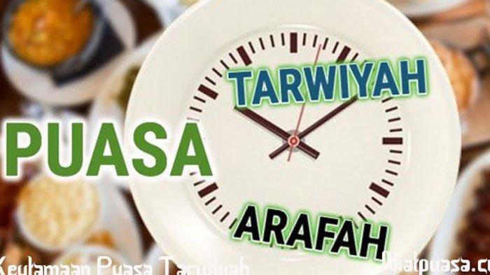 Niat Puasa Tarwiyah Jelang Idul Adha 2019, Dilaksanakan Besok Jumat 9 Agustus, Hapus Dosa Setahun!