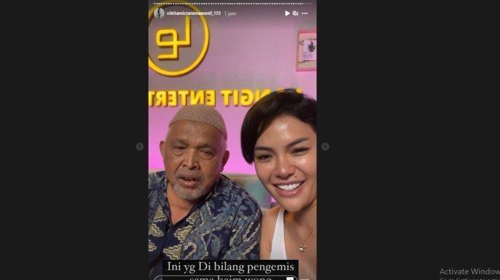 Dimarahi Baim Wong karena Maksa Minta Uang, Kakek Suhut Justru Dibantu Nikita Mirzani & Dapat Donasi