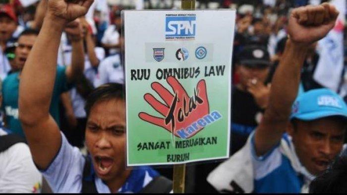 Draf UU Cipta Kerja Berubah Lagi jadi 1.187 Halaman, Ada Perubahan Format dan Penghapusan Pasal