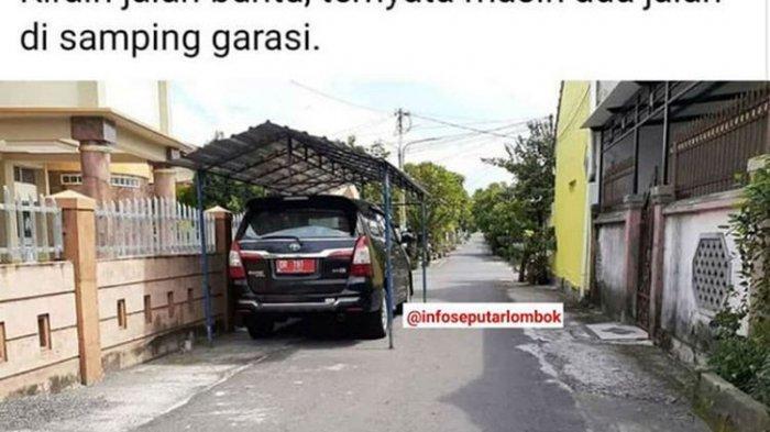 POPULER Pejabat Pemilik Mobil Dinas yang Viral Parkir di Kanopi Jalan Umum Protes Minta Foto Dihapus