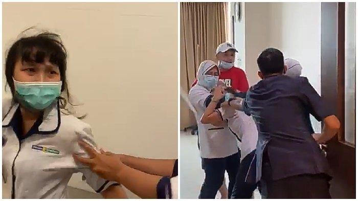 Pengakuan Istri Pria yang Aniaya Perawat di Palembang: 'Susternya Ketus, Kok Bisa Omong Kayak Gitu'