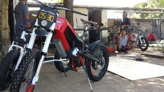 Sepeda Listrik Buatan Warga Lombok, NTB Kini Mendunia, Ingin Dipamerkan Saat MotoGP Mandalika