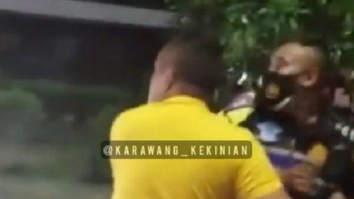 Kronologi Video Pria Terobos Pos Penyekatan di Karawang, Mobil Depannya Boleh Lewat karena Dekat