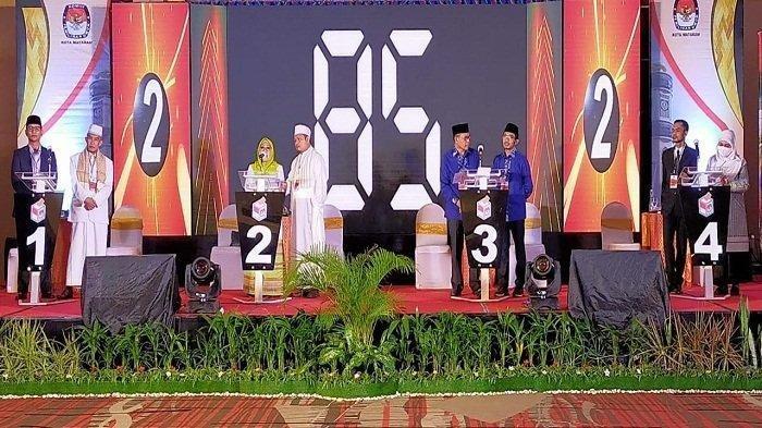 Hasil Real Count Pilkada Mataram 2020, Pasangan Mohan Roliskana & TGH Mujiburrahman Juga Unggul