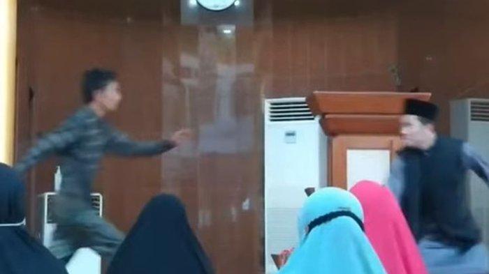 Layangkan Tinju ke Arah Ustaz Abu Syahid Chaniago di Batam, Pelaku: 'Tak Suka Ceramah Keagamaan'