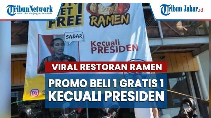 Pemilik Warung di Garut Jelaskan Promo Kecuali Presiden: 'Kalau Pak Jokowi Mau Beli, Saya Gratiskan'