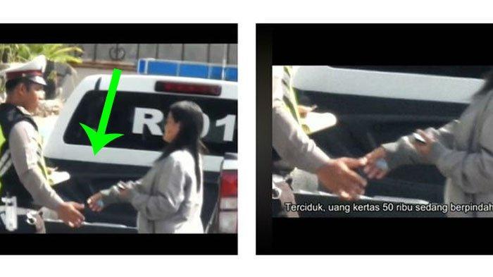 POPULER Video Oknum Polisi yang Diduga Terima Pungli Saat Sedang Lakukan Tilang, Ini Kata Atasannya