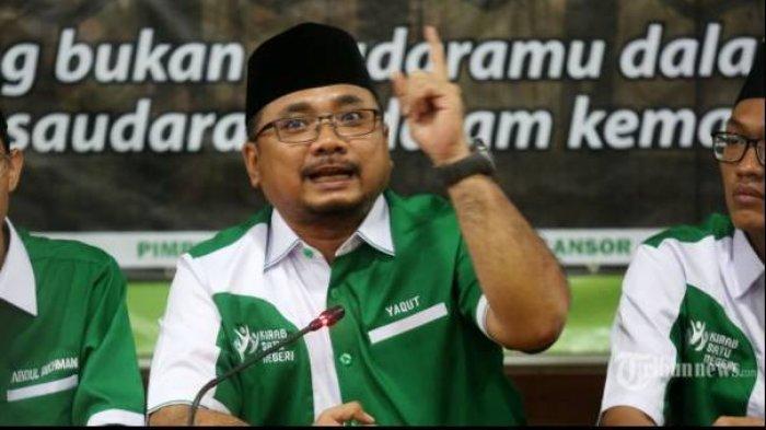 JEJAK DIGITAL Yaqut Cholil Qoumas Diramal Jadi Menteri Agama-nya Jokowi, Spontan Ucap 'Innalillahi'