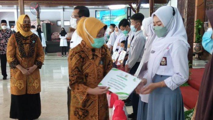 65 Anak Yatim dan Yatim Piatu Korban Covid-19 di Tulungagung Diikutkan Sapa Si Yatim