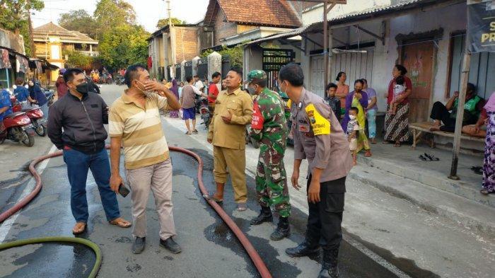 Puskesmas Ngadiluwih Terbakar, Ruang Periksa Tes Swab Ludes