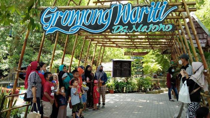 Gronjong Wariti ,Sungai Pengairan di Kediri yangDimanfaatkan Untuk Tempat Wisata
