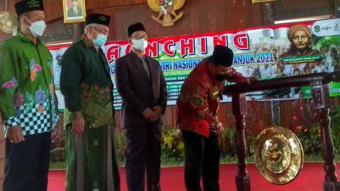 Launching Rangkaian Kegiatan PHSN Tahun 2021, Pemkab Gandeng PCNU Nganjuk