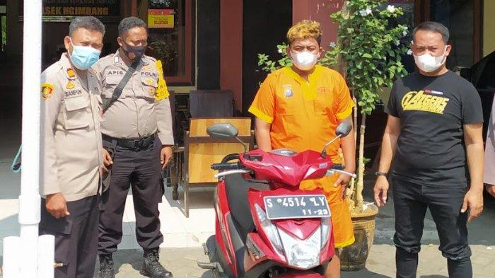 Pemuda Dari Pare Kediri Diciduk Polisi di Lamongan Setelah Beraksi Mencuri Motor