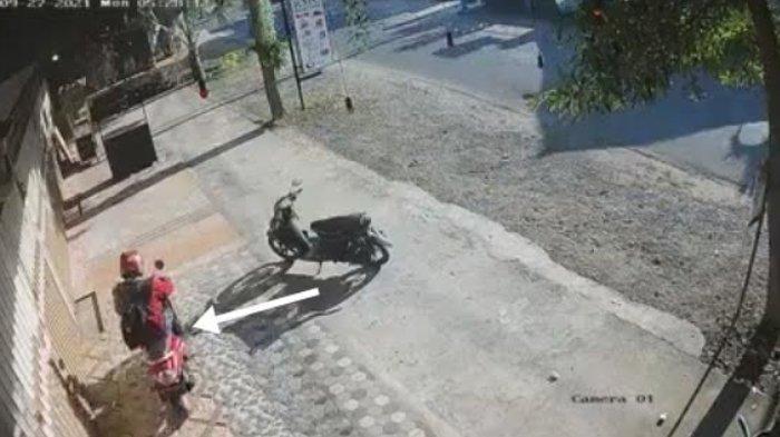 Viral di Medsos, Pencuri Motor Menukar Motor Bututnya Dengan Motor Rp 20 Juta Milik Korban